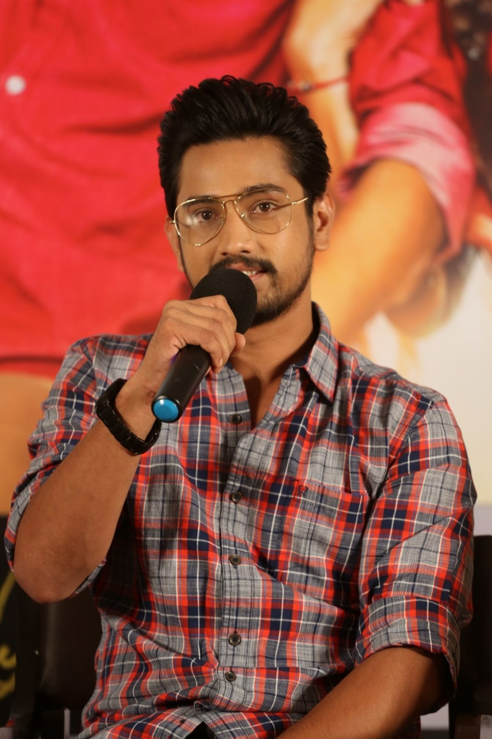 Actor Raj Tarun @ Rangula Ratnam Movie Pre Release Event Stills