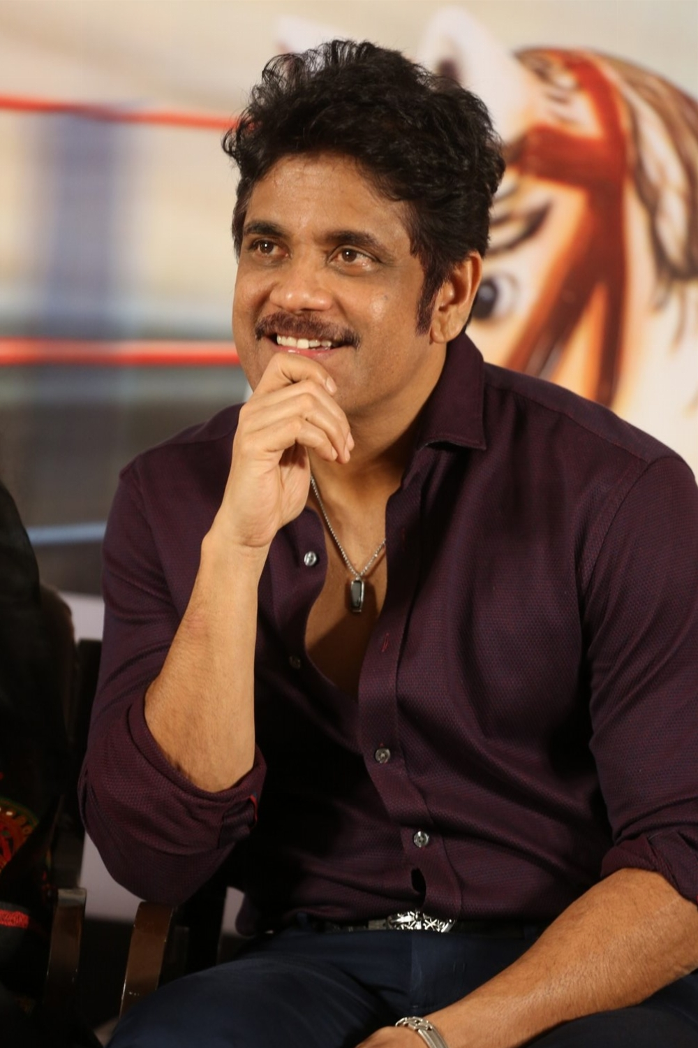 Nagarjuna @ Rangula Ratnam Movie Pre Release Event Stills