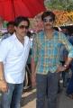 Arjun, Jagapathi Babu at Rani Ranamma Movie Opening Stills