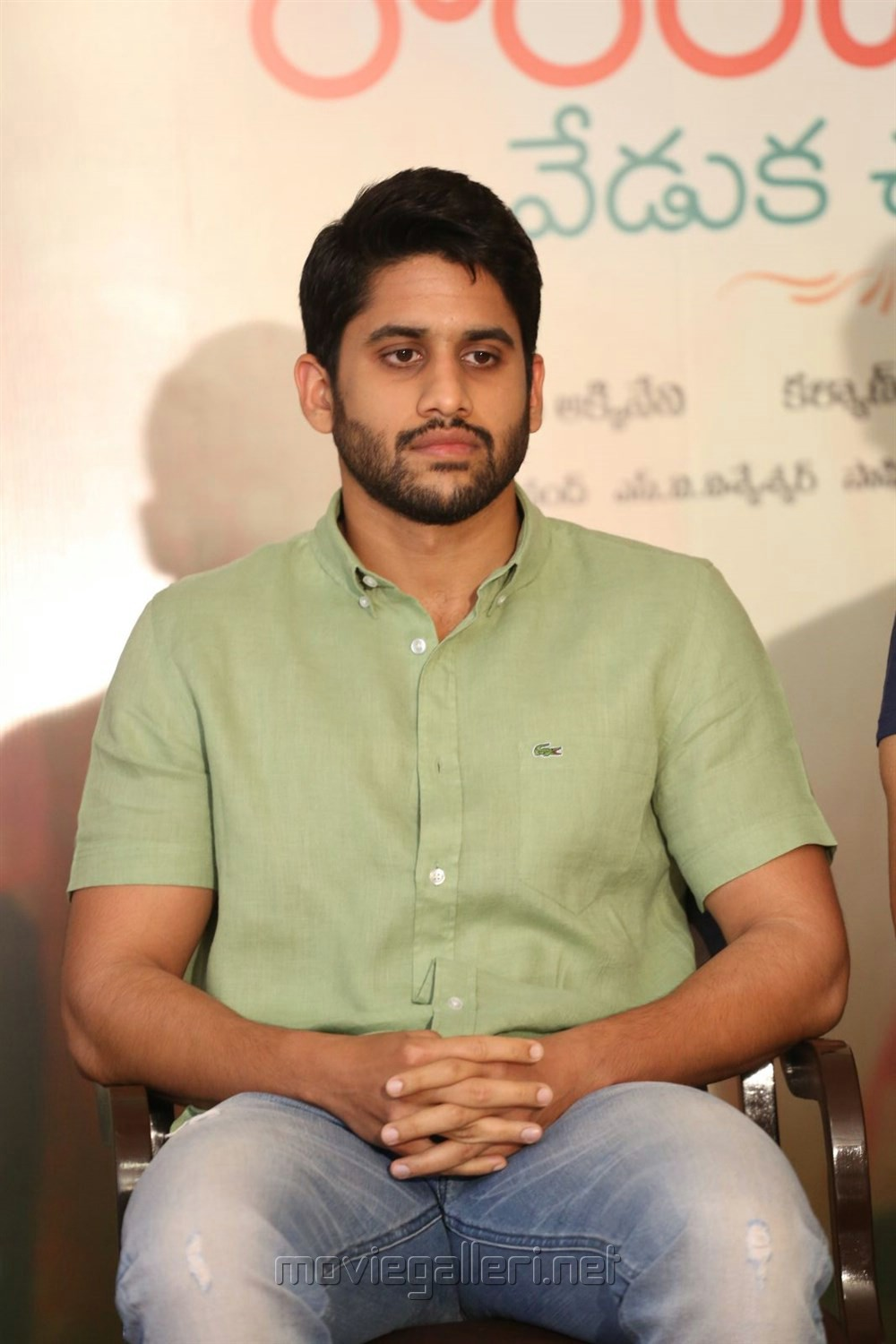 Naga Chaitanya @ Rarandoi Veduka Chuddam Press Meet Stills