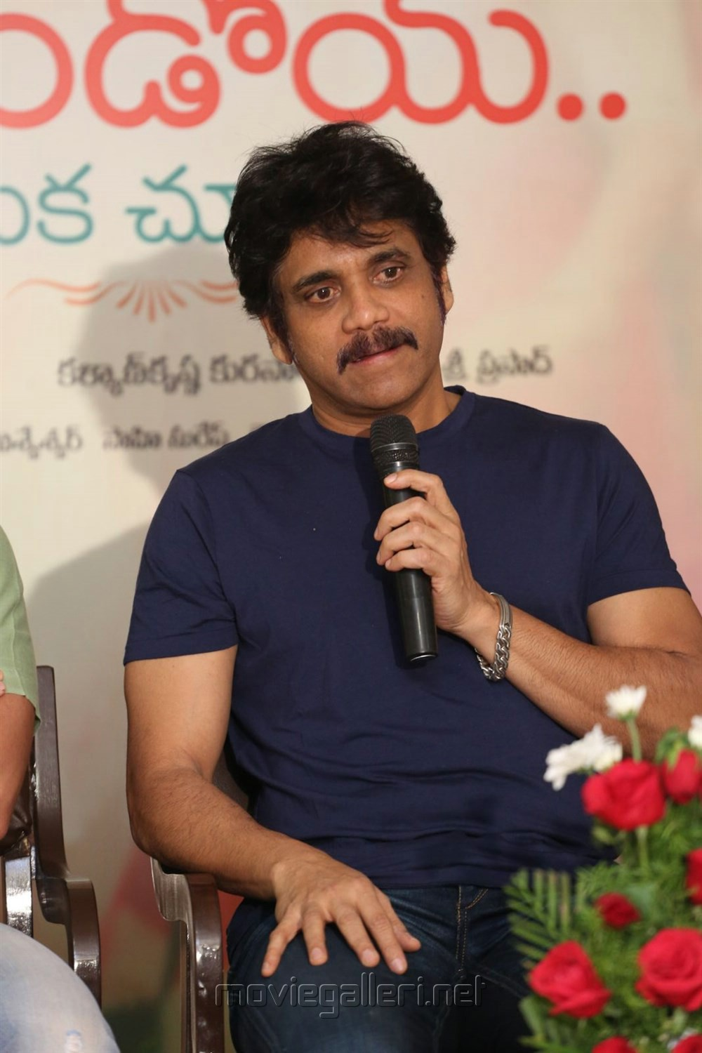 Akkineni Nagarjuna @ Rarandoi Veduka Chuddam Press Meet Stills