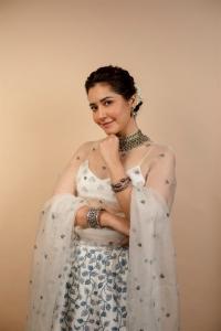 Actress Rashi Khanna Photos @ Aranmanai 3 Movie Press Meet