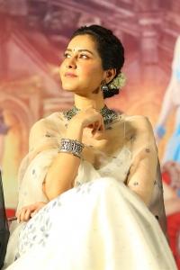 Actress Raashi Khanna Photos @ Aranmanai 3 Movie Press Meet