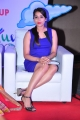 Actress Rashmi Gautam Hot in Blue Mini Dress Pics