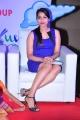 Actress Rashmi Gautham Hot Pics in Blue Mini Dress