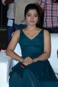 Actress Rashmika Mandanna Pictures @ Bheeshma Movie Pre Release