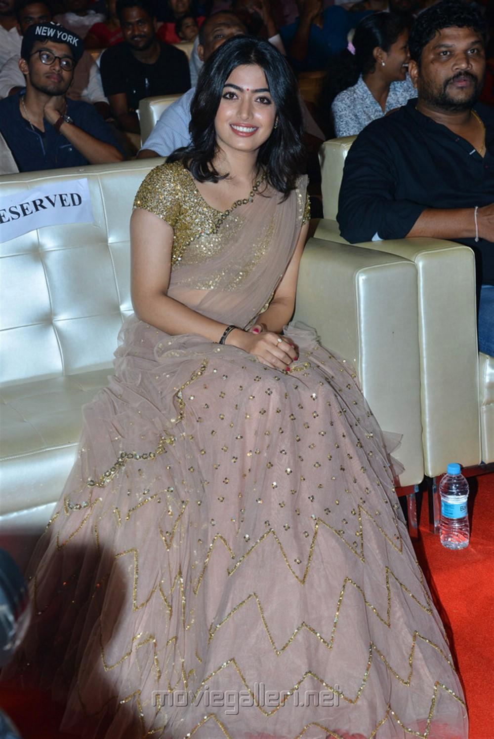 Actress Rashmika Mandanna Images @ Geetha Govindam Movie Pre Release