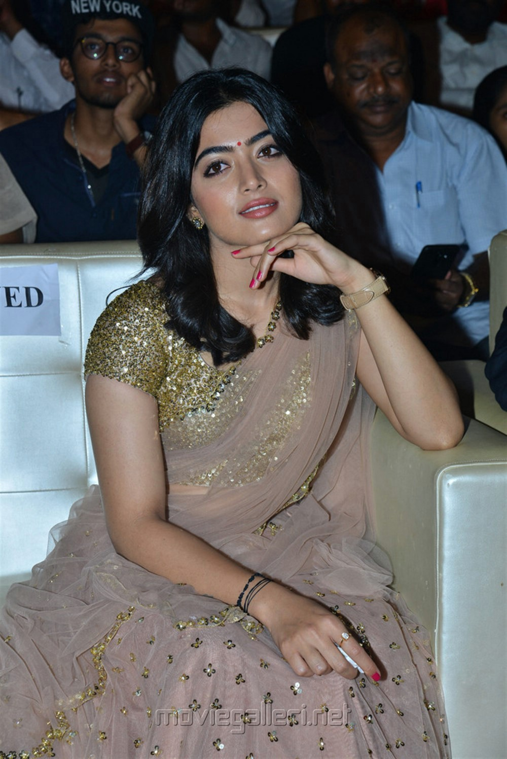 Actress Rashmika Mandanna Images @ Geetha Govindam Pre Release