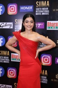 Actress Rashmika Mandanna Pictures @ SIIMA Awards 2021