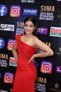 Actress Rashmika Mandanna Pics @ SIIMA Awards 2021