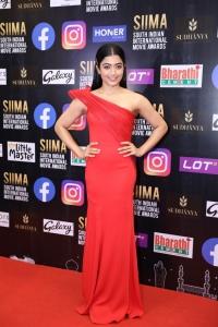 Actress Rashmika Mandanna Cute Pics @ SIIMA Awards 2021