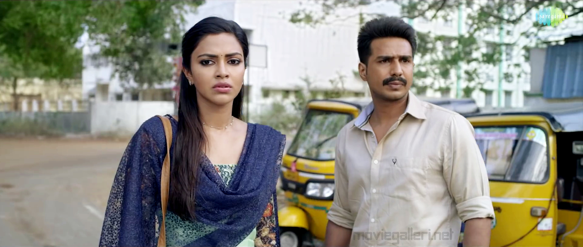 Amala Paul, Vishnu Vishal in Ratchasan Movie Stills HD