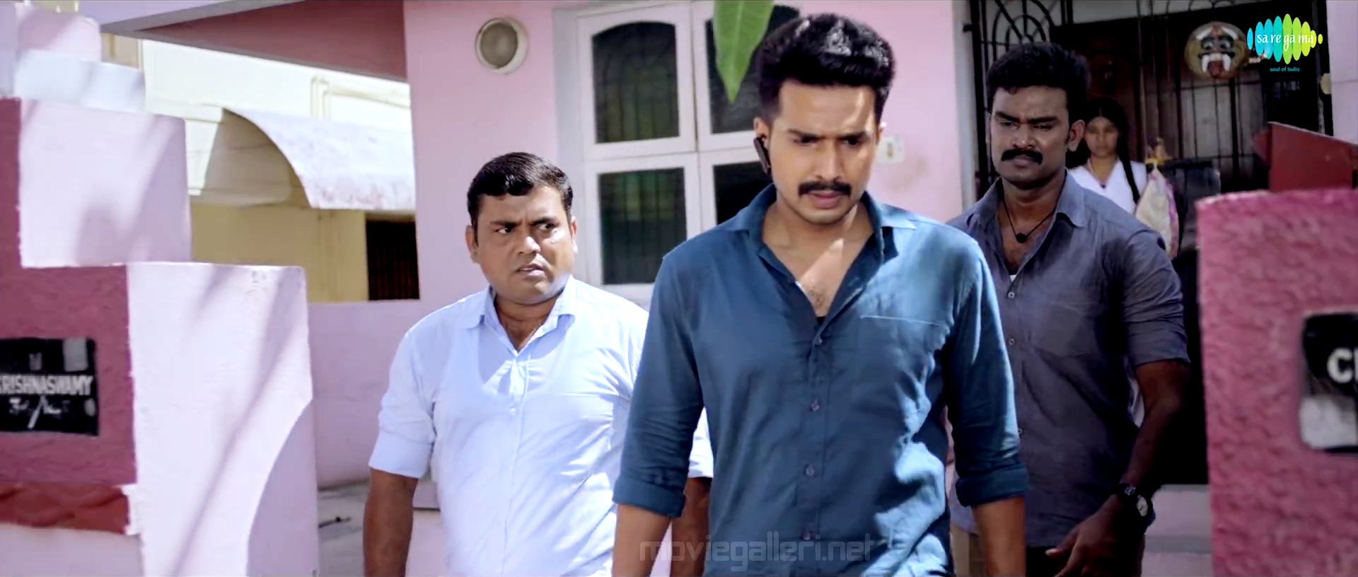 Kaali Venkat,Vishnu Vishal in Ratchasan Movie Stills HD