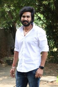 Actor Vishnu Vishal @ Ratchasan Success Meet Stills