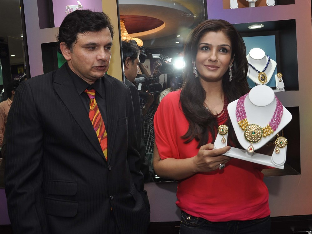 Picture 580734 | Raveena Tandon launched Waman Hari Pethe ...