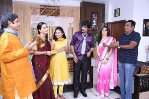Surekha Vani, Ravi Teja, Archana, Prakash Raj in Balupu Movie Stills