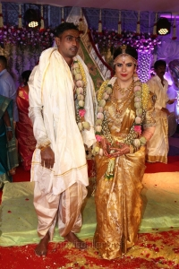 Radhika Sarathkumar's daughter Rayanne Hardy - Abhimanyu Mithun Marriage Photos