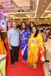 Kalpathi S. Aghoram, Archana Kalpathi @ Radhika Sarathkumar's daughter Rayanne Hardy Marriage Photos
