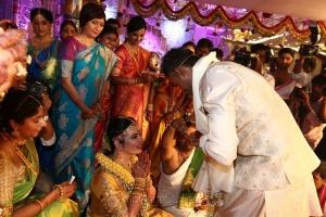 Radhika Sarathkumar's daughter Rayanne Hardy - Abhimanyu Mithun Marriage Images