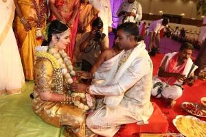 Radhika Sarathkumar's daughter Rayanne Hardy Marriage Photos