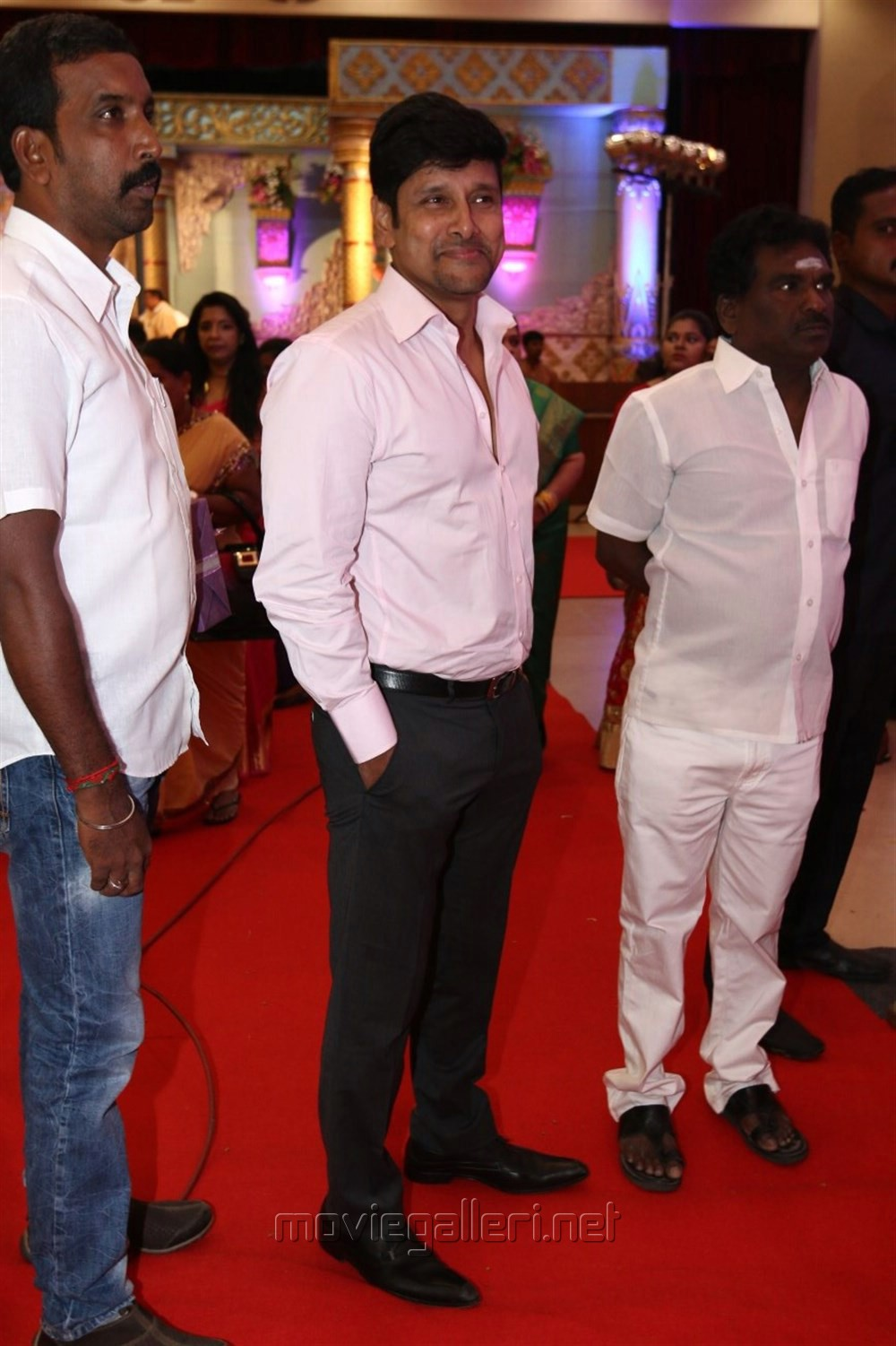 Chiyaan Vikram @ .Radhika Sarathkumar's daughter Rayanne Hardy Marriage Photos