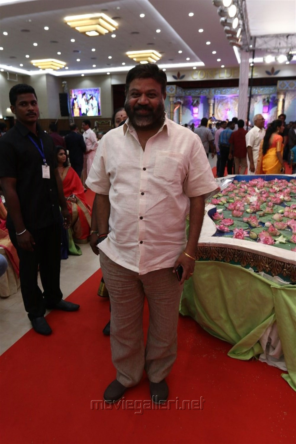 P Vasu @ Radhika Sarathkumar's daughter Rayanne Hardy Marriage Photos