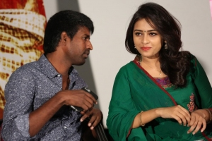 Soori, Sri Divya @ Rayudu Movie Team Meet Stills