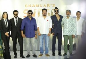 RC15 Shankar Ram Charan Movie Pooja Stills