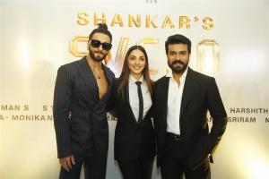 Ranveer Singh, Kiara Advani @ RC15 Shankar Ram Charan Movie Pooja Stills
