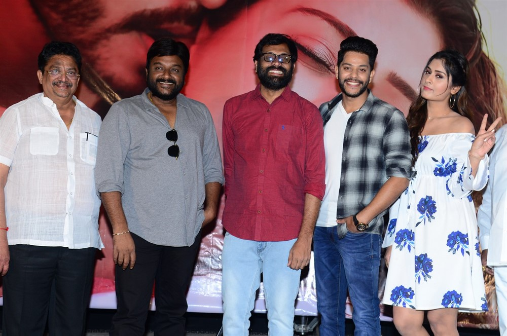 RDX Love Movie Trailer Launch Stills