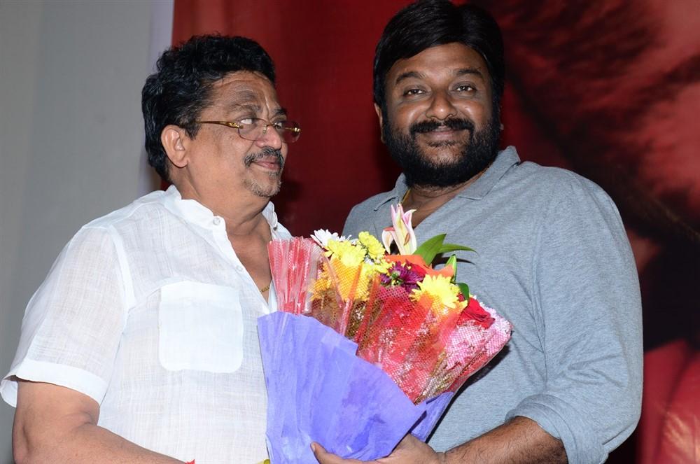 C Kalyan, VV Vinayak @ RDX Love Movie Trailer Launch Stills