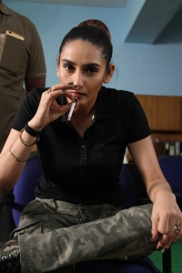 Actress Ragini Dwivedi in Real Dandupalyam Movie Stills