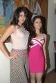 Deeksha Seth, Tamanna at Rebel Movie Trailer Launch Stills