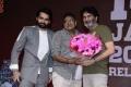 Ram Pothineni, Sravanthi Ravi Kishore, Trivikram Srinivas @ Red Movie Pre Release Event Stills