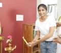 Meenakshi Sreedharan @ Redrum Movie Pooja Stills