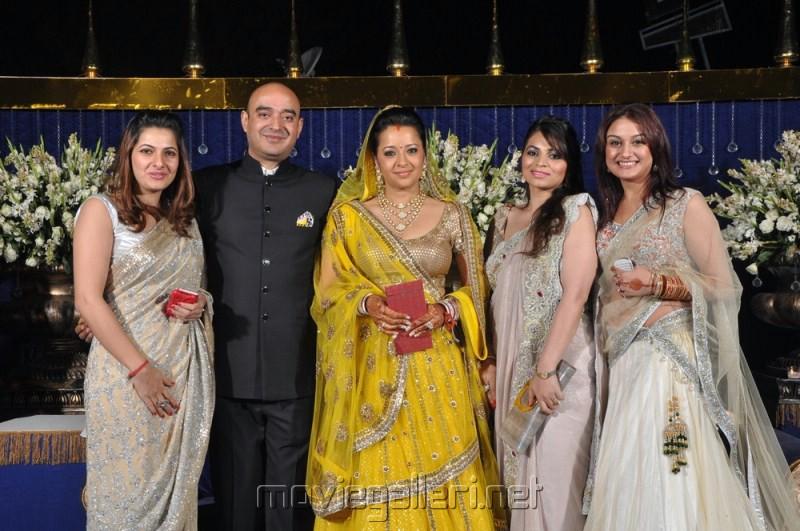 Sonia Agarwal at Reema Sen Reception Photos