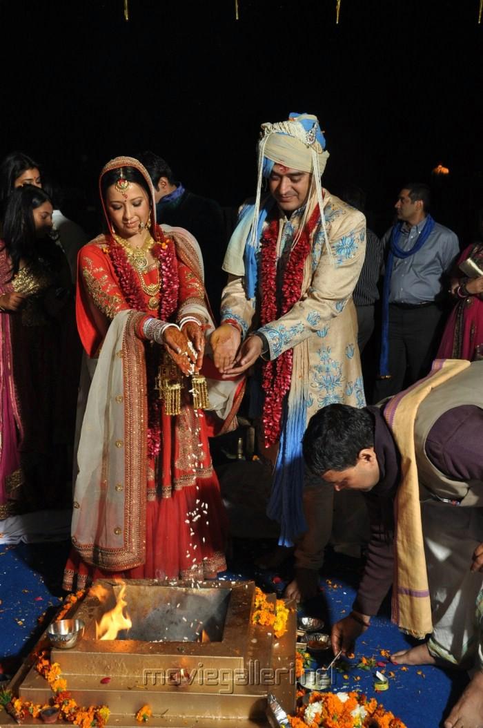 Reema Sen - Shiv Karan Singh Wedding Stills