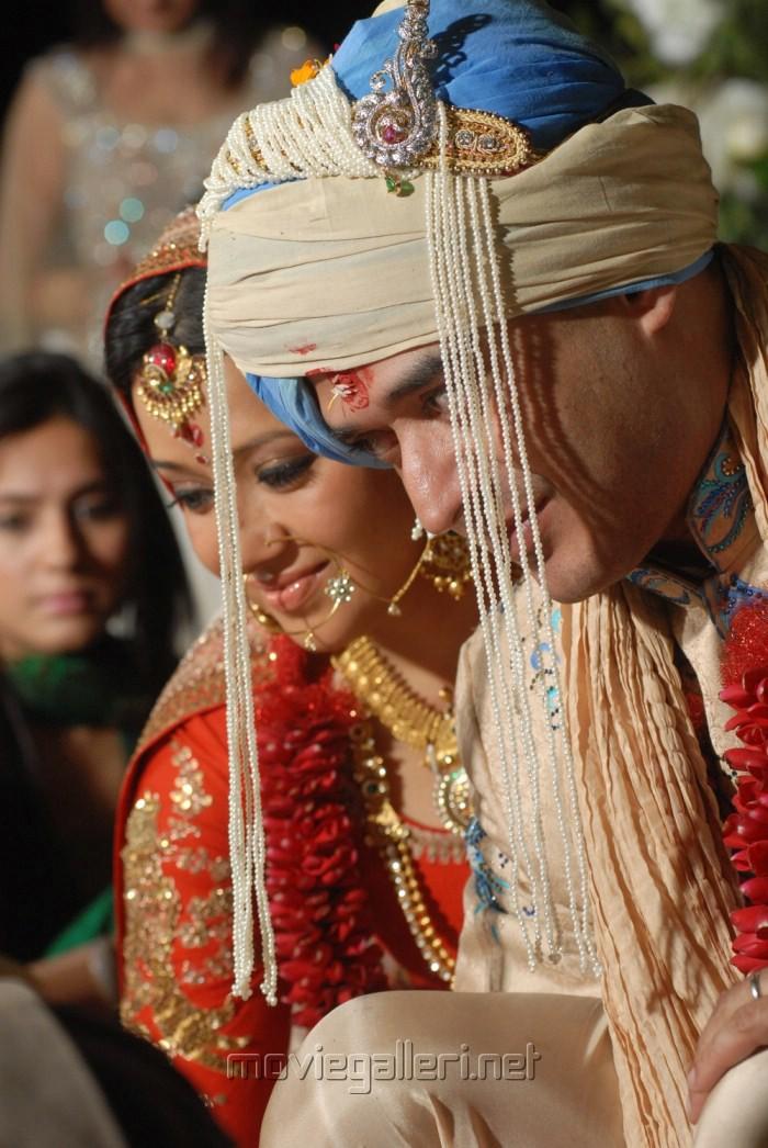 Actress Reema Sen Wedding Pics