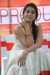Actress Regina Cassandra Stills at Nara Rohit New Movie Opening