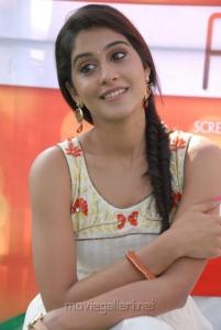 Telugu Actress Regina Latest Stills at Nara Rohit New Movie Opening