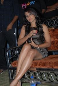 Telugu Actress Regina Hot Photos at Swami Ra Ra Audio Release