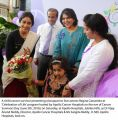 Regina Cassandra at Apollo Hospital Cancer Survivors Day