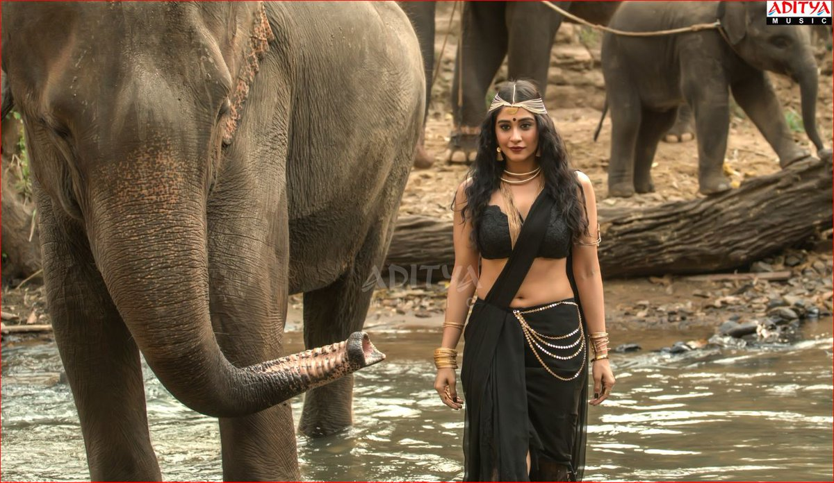 Actress Regina Cassandra Hot Stills in Nakshatram Movie