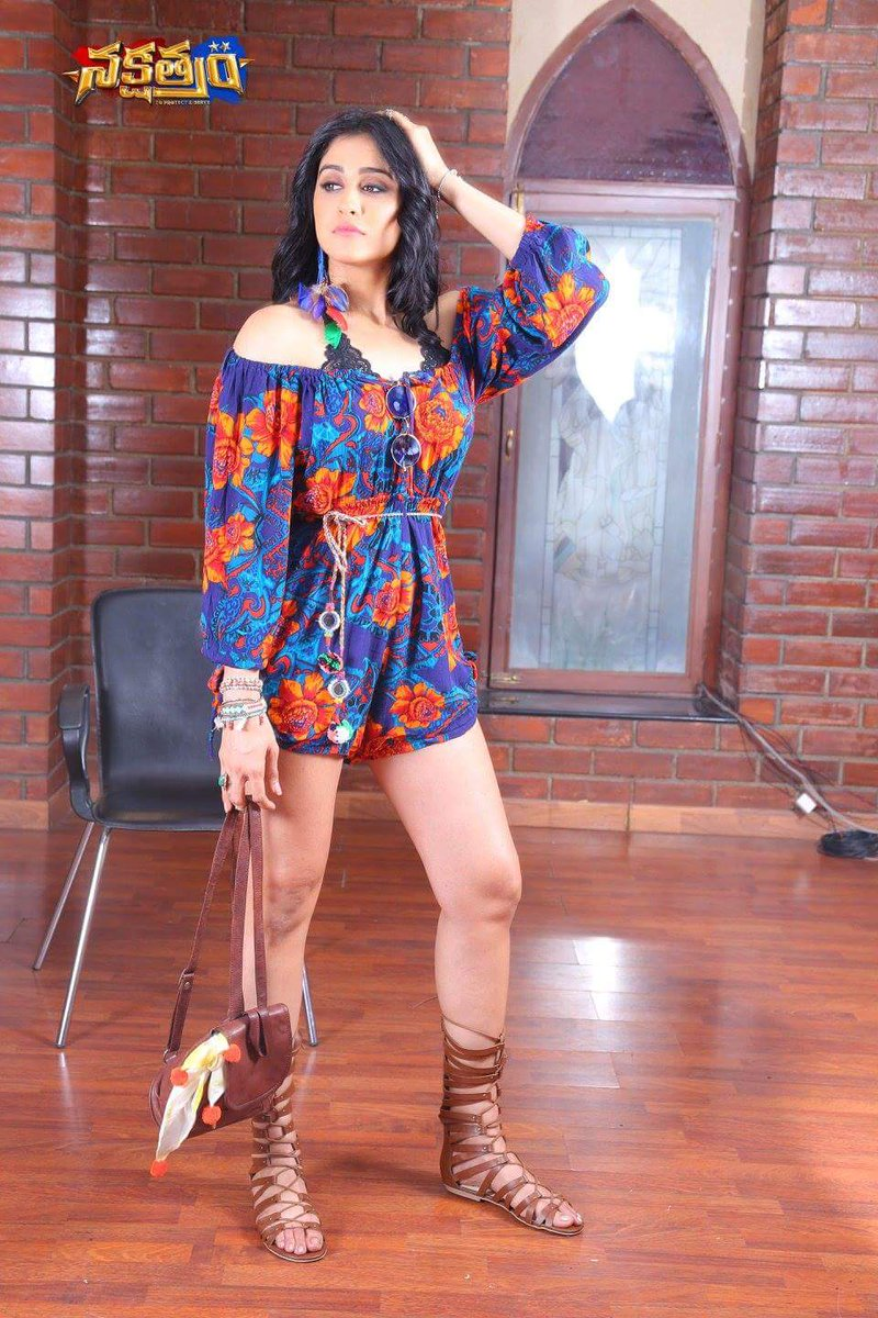 Actress Regina Cassandra Hot in Nakshatra Movie Stills