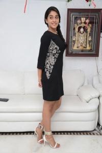 Telugu Heroine Regina Cassandra Stills in Black Dress