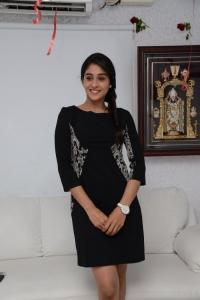 Telugu Heroine Regina in Black Dress Stills