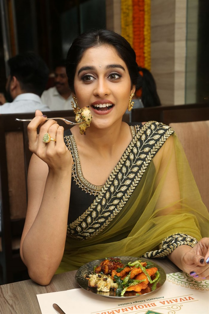 Regina launches Vivaha Bhojanambu Restaurant Photos