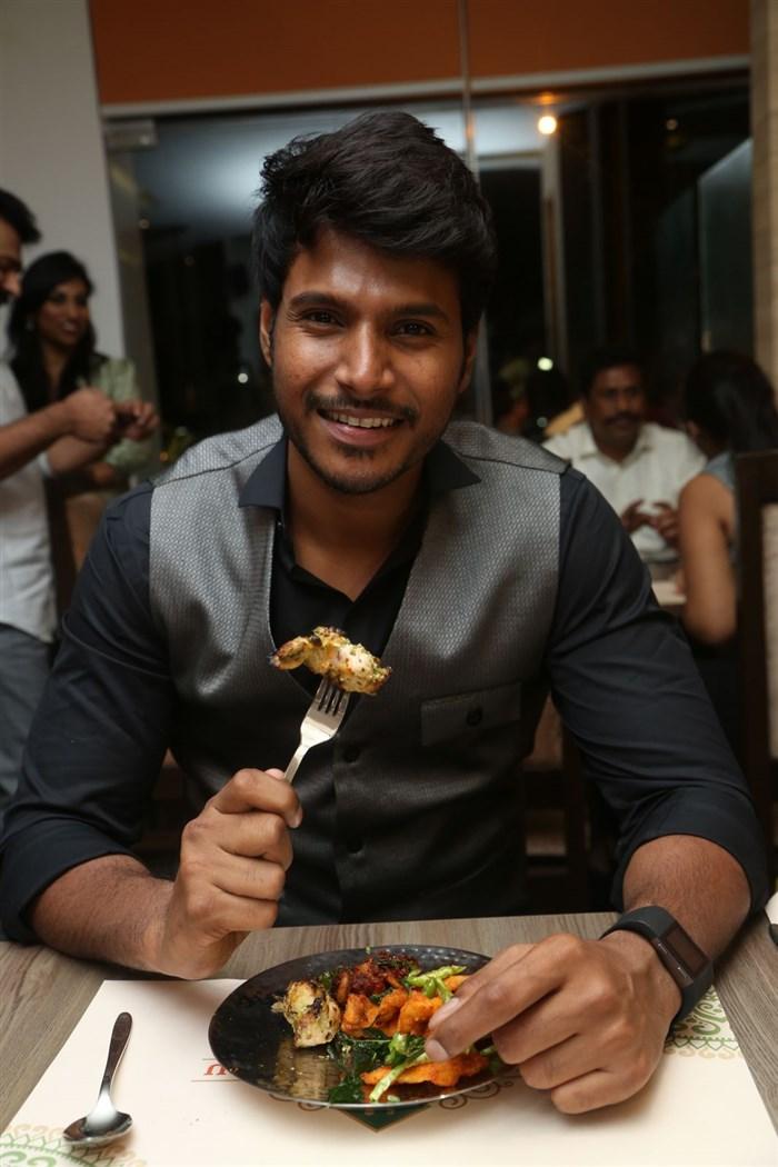 Sundeep Kishan launches Vivaha Bhojanambu Restaurant Photos
