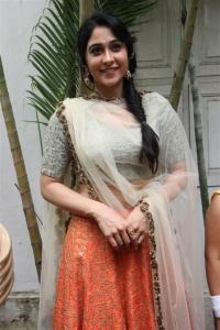 Actress Regina Stills @ Mr Chandramouli Movie Pooja