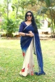 Tamil Actress Rekha Images in Blue Saree